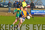 St Brendans v Macroom in the Munster Colleges semi Finals at Knocknagree on Sunday