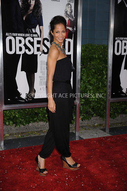 WWW.ACEPIXS.COM . . . . . ....April 23 2009, New York City....Actress Sherri Saum arriving at the premiere of 'Obsessed' presented by The Cinema Society & MCM at the School of Visual Arts on April 23, 2009 in New York City.....Please byline: KRISTIN CALLAHAN - ACEPIXS.COM.. . . . . . ..Ace Pictures, Inc:  ..tel: (212) 243 8787 or (646) 769 0430..e-mail: info@acepixs.com..web: http://www.acepixs.com