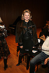 Lady Liliana Cavendish-Front Row-Mercedes Benz Fashion Week Douglas Hannant Fall 2013, NY 2/13/13