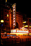 Chicago Theater Marquee
