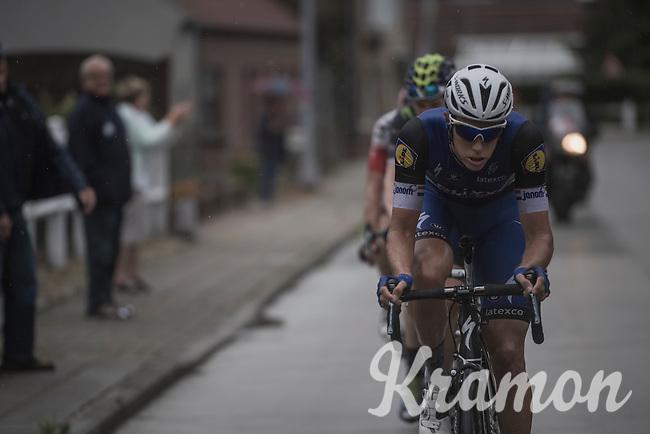 Niki Terpstra (NED/Etixx-QuickStep) working hard in the breakawayy<br /> <br /> 12th Eneco Tour 2016 (UCI World Tour)<br /> Stage 7: Bornem › Geraardsbergen (198km)