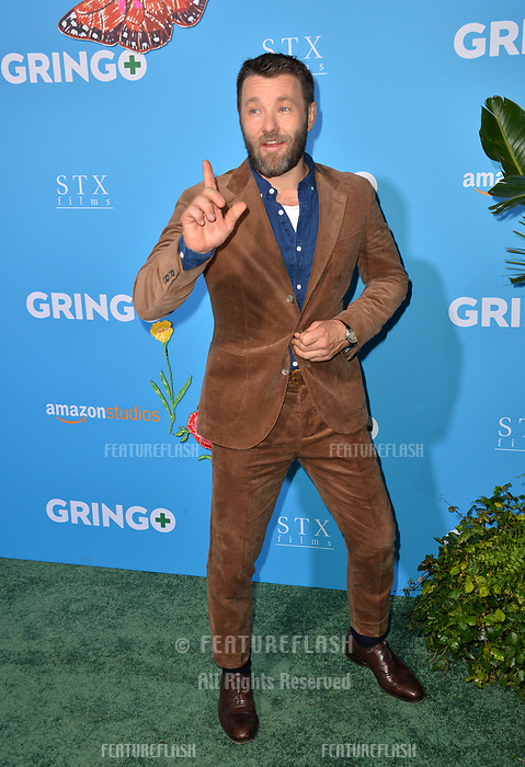 Joel Edgerton at the world premiere for &quot;Gringo&quot; at the L.A. Live Regal Cinemas, Los Angeles, USA 06 March 2018<br /> Picture: Paul Smith/Featureflash/SilverHub 0208 004 5359 sales@silverhubmedia.com