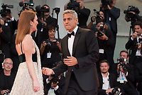 "George Clooney, Julianne Moore at the ""Suburbicon"" premiere, 74th Venice Film Festival in Italy on 2 September 2017.<br /> <br /> Photo: Kristina Afanasyeva/Featureflash/SilverHub<br /> 0208 004 5359<br /> sales@silverhubmedia.com"