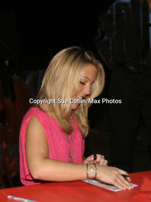 - One Life To Live's Kristen Alderson signs autograph and was guest host and signed autographs at The Coney Island Illuscination presented by Ringling Bros. and Barnum & Bailey - The Greatest Show on Earth on August 28, 2010 at Coney Island Boardwalk, New York. (Photo by Sue Coflin/Max Photos)