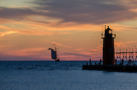 Sunset Cruise on South Haven's tall ship Friends Good Will