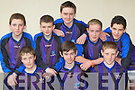 Kenmare soccer team who participated at the KDYS county finals in Killarney on Sunday front row l-r: Simon O'Shea, Darragh Sweeney, Kevin Price. Back row: Denny Cronin, James Jones, Eugene Sweeney, Aaron Morris and Chris O'Sullivan................