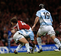 2005 British & Irish Lions vs Argentina, at The Millennium Stadium, Cardiff, WALES played on  23.05.2005, Gorden D'Arcy tackled by Federico Todeschini..Photo  Peter Spurrier. .email images@intersport-images....