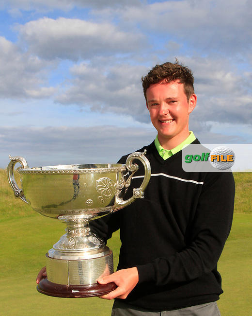 John Ross Galbraith (Whitehead) winner of the Irish Amateur Close Championship at Seapoint Golf Club on Wednesday 11th June 2014.<br /> Picture:  Thos Caffrey / www.golffile.ie