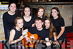 Clonkeen Youth Choir members  launched their new CD in Clonkeen last Tuesday  night front row l-r: Lucy Cronin, Denis O'Sullivan, Eabha Healy. Bac row: Aoife Kelliher, Emma Cantilon, Aileen Healy and Alison O'Sullivan