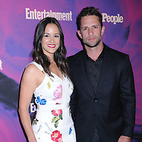 13 May 2019 - New York, New York - Melissa Fumero and David Fumero at the Entertainment Weekly & People New York Upfronts Celebration at Union Park in Flat Iron. Photo Credit: LJ Fotos/AdMedia