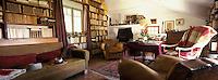 Europe/France/Provence-Alpes-Côte d'Azur/04/Alpes de Haute Provence/Manosque: Bureau de l'écrivain Jean Giono dans sa maison du quartier Lou Parais