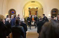 Comrade Godfrey Andries Cremer's Funeral service, Mortlake Crematorium, Richmond London, 5 April 2012