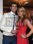 Shane McCormack and Lisa Finglas pictured at the Newtown Blues dinner dance in the Westcourt hotel. Photo:Colin Bell/pressphotos.ie
