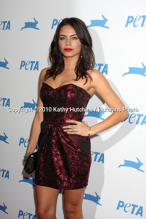 LOS ANGELES - SEP 25:  Jenna Dewan Tatum arrives at the PETA 30th Anniversary Gala at Hollywood Palladium on September 25, 2010 in Los Angeles, CA