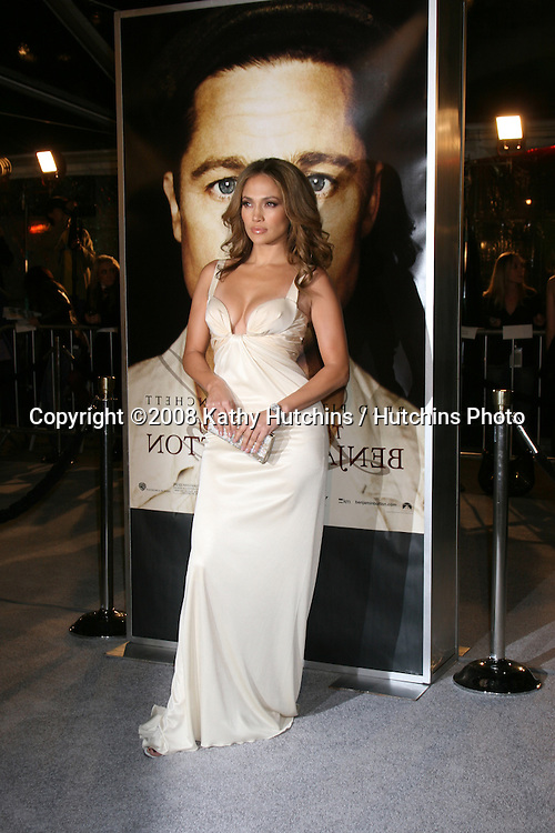 "Jennifer Lopez arriving at the LA  Premiere of ""The Curious Case of Benjamin Button"" at the Mann's Village Theater in Westwood, CA .December 8, 2008.©2008 Kathy Hutchins / Hutchins Photo....                ."