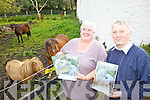PONY SHOW: Anna McCarthy and John Mulvihill announcing details of the annual Kerry Bog Pony Show and Sale at the Red Fox Inn in Glenbeigh on Saturday next.