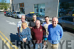 Taxis not happy with new rank in Abbey Court. Pictured front l-r Tina Coffey,Tom McHale, Tom McElligott Back Mike Flaherty, Tim Hennessy and Philip Burn