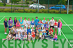 .....TENNIS; the Junior members of Tralee Tennis Club, by the Carlton Hotel, Tralee on Friday held an Bar B Que ...... ..