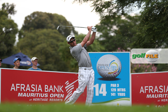 Jaco Van Zyl (RSA) from the 14th during Round Two of the Tshwane Open 2015 at the Pretoria Country Club, Waterkloof, Pretoria, South Africa. Picture:  David Lloyd / www.golffile.ie. 13/03/2015