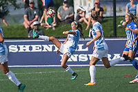 Allston, MA - Saturday August 19, 2017: Dani Weatherholt during a regular season National Women's Soccer League (NWSL) match between the Boston Breakers and the Orlando Pride at Jordan Field.