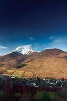 Beinn a Bheithir from the Brecklet Trail, Ballachulish, Lochaber