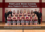 2016 PHS Girls Tennis
