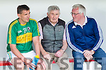 Micko back in the dugout again as manager of the Kerry Legends Side with Maurice Fitzgerald and Pat Spillane who took on the rest of the Country on Friday evening.