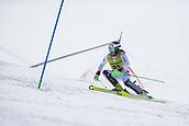 17th March 2018, Àvet Slope, Soldeu, Andorra; FIS Alpine Ski European Cup, Slalom Ladies Finals; #31 LORENZ Bernadette from AUT during the Slalom Final