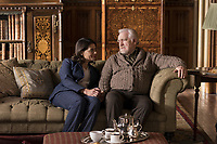 SUCCESSION (season 1)<br /> HIAM BASS, BRIAN COX<br /> *Filmstill - Editorial Use Only*<br /> CAP/FB<br /> Image supplied by Capital Pictures