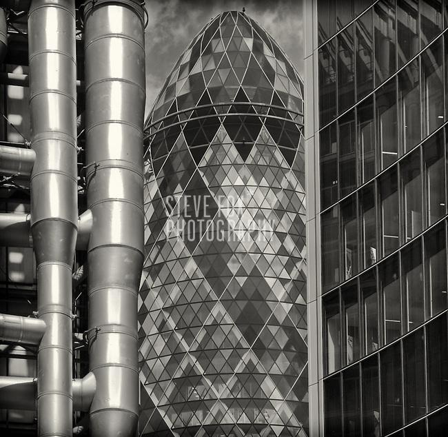 The Gherkin, 30 St Mary Axe, London