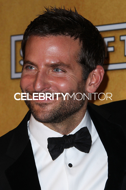 LOS ANGELES, CA - JANUARY 18: Bradley Cooper in the press room at the 20th Annual Screen Actors Guild Awards held at The Shrine Auditorium on January 18, 2014 in Los Angeles, California. (Photo by Xavier Collin/Celebrity Monitor)