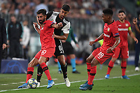 Kerem Demirbay of Leverkusen , Sami Khedira of Juventus , Wendell of Leverkusen <br /> Torino 01/10/2019 Juventus Stadium <br /> Football Champions League 2019//2020 <br /> Group Stage Group D <br /> Juventus - Leverkusen <br /> Photo Andrea Staccioli / Insidefoto