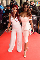 Dianne Buswell and Oti Mabuse<br /> arriving for TRIC Awards 2018 at the Grosvenor House Hotel, London<br /> <br /> ©Ash Knotek  D3388  13/03/2018