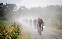 Quinten Hermans (BEL/Telenet Fidea Lions) leading the way<br /> <br /> Dwars door het Hageland 2019 (1.1)<br /> 1 day race from Aarschot to Diest (BEL/204km)<br /> <br /> ©kramon