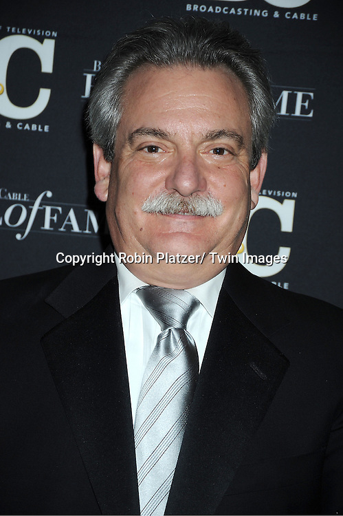 honoree Andrew Heller of Turner Broadcasting System attends the 2011 Broadcasting & Cable Hall of Fame Awards on October 26, 2011 at the Waldorf Astoria Hotel in New York City.