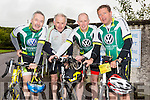 Enjoying the Castleisland Day Care Centre Charity Cycle conjunction with Currow Cycling Club on Sunday were L-r John McCarthy, Tim Dineen, Jack O'Connell and Thomas O'Connor