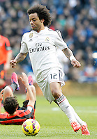 Real Madrid's Marcelo Vieira during La Liga match.January 31,2015. (ALTERPHOTOS/Acero) /NortePhoto<br />