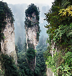 Mountain spire at Zhangjiajie National Forest Park, Zhangjiajie, Hunan, China Image © MaximImages, License at https://www.maximimages.com