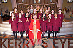 The 6th class students of Muire Gan Smal St Mary&rsquo;s Presentation Castleisland who were Confirmed at St Stephen and St John, Castleisland  on Tuesday March 18th. By Bishop Ray Browne<br /> <br /> Front Row l-R: Gemma Kearney, Emma Reagan, Jeannie Bobilles, Aine Sheehan, Lizzie Mai Hartnett, Nikita Coffey<br /> Middle row L-R: Aisling Nolan, Clodagh O Connor, Aiva Herbert, Joanna Drozd, Ailish  Donovan, Gabriele Coughlan, Aisling Kearney<br /> Back row L-R: Principal Ms. Twiss, Class teacher: Mrs. Smith and Patrycya Holewa.