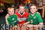 Sean O'Connell, Sean O'Connor, Kieran O'Connor from Oakpark enjoying the Tralee Pitch and Putt Table Quiz in Na Gaeil Clubhouse on Friday