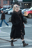 FEB 06 Helena Bonham Carter Seen In New York City