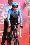 Miguel Angel Lopez Moreno (COL) Astana Pro Team on the start ramp of Stage 1 of the 2019 Giro d'Italia, an individual time trial running 8km from Bologna to the Sanctuary of San Luca, Bologna, Italy. 11th May 2019.<br /> Picture: Eoin Clarke | Cyclefile<br /> <br /> All photos usage must carry mandatory copyright credit (© Cyclefile | Eoin Clarke)