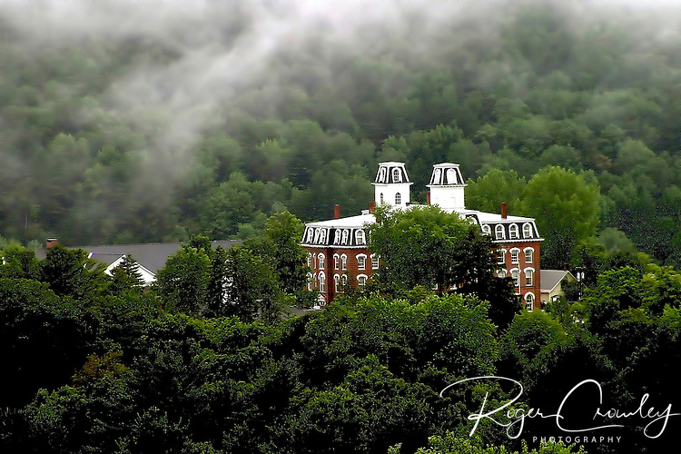 Roger Crowley / CrowleyPhotos.com   College Hall at Vermont College of Fine Arts in Montpelier Vermont.