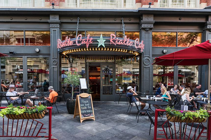 Rialto Cafe, 16th Street Mall, Denver, Colorado, USA