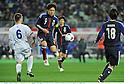 Gudmundur Kristjansson (ISL), Yasuhito Endo (JPN),.FEBRUARY 24, 2012 - Football / Soccer :.Kirin Challenge Cup 2012 match between Japan 3-1 Iceland at Nagai Stadium in Osaka, Japan. (Photo by Takamoto Tokuhara/AFLO)