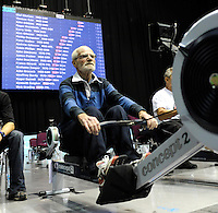 Birmingham, Great Britain,  Men's 85-89 LWT, Gold Medallist, Stanley ASPINALL, Galpharm Stadium,  competing at the 2008 British Indoor Rowing Championships, National Indoor Arena. on  Sunday 26.10.2008 . [Photo, Peter Spurrier/Intersport-images] .