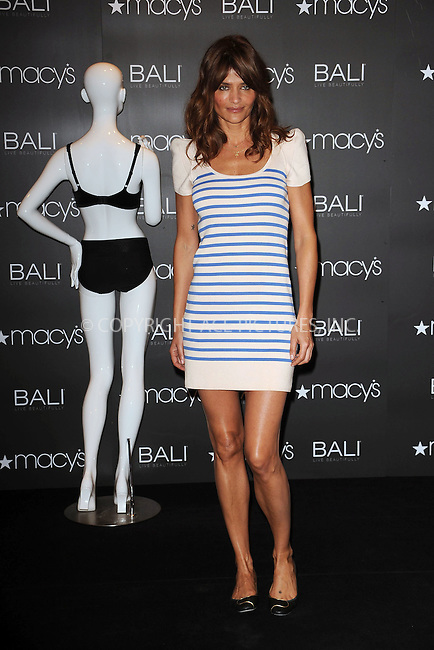 WWW.ACEPIXS.COM . . . . . ....May 6 2010, New York City....Model Helena Christensen promoted Bali underwear at Macy's Herald Square on May 6 2010 in New York City....Please byline: KRISTIN CALLAHAN - ACEPIXS.COM.. . . . . . ..Ace Pictures, Inc:  ..tel: (212) 243 8787 or (646) 769 0430..e-mail: info@acepixs.com..web: http://www.acepixs.com