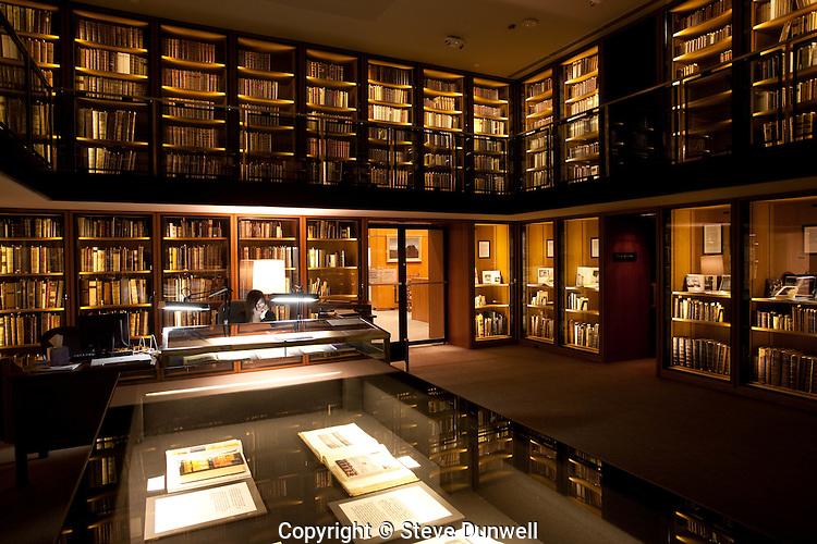 Rare Books room, Boston Public Library, Boston, MA,  architect = McKim
