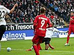 13.01.2018, Commerzbank - Arena, Frankfurt, GER, 1.FBL, Eintracht Frankfurt vs SC Freiburg<br /> , im Bild<br />Sebastien Haller (Frankfurt) erzielt das Tor zum 1:0