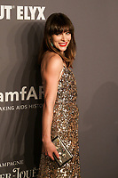06 February 2019 - New York, NY - Milla Jovovich. 21st Annual amfAR Gala New York benefit for AIDS research during New York Fashion Week held at Cipriani Wall Street. Photo Credit: Debby Wong/AdMedia